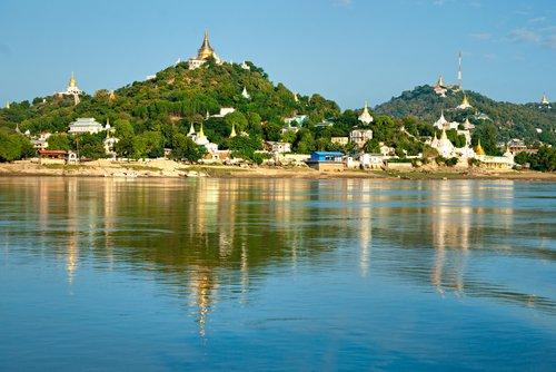 Cruising the Irrawaddy River