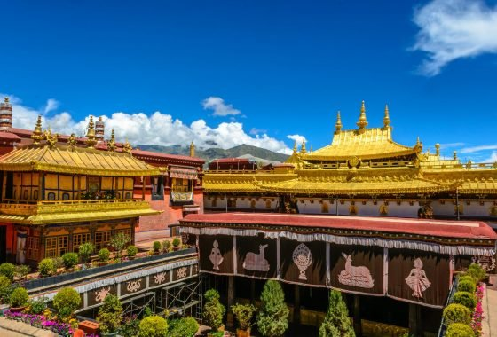 The Barkhor And Jokhang