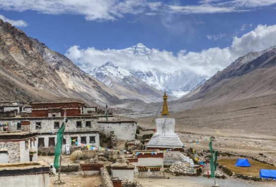 Everest Base Camp and Rongbuk Monastery