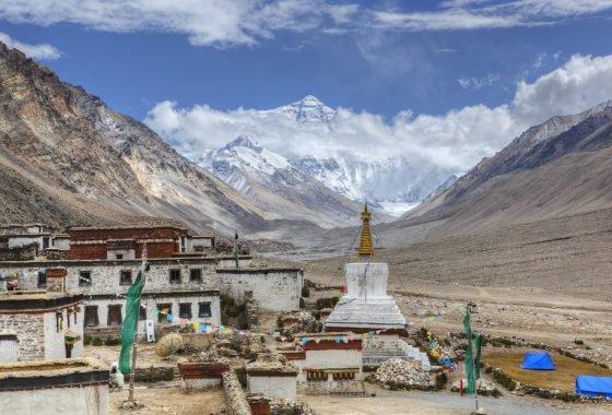 Everest Base Camp and Rongbuk Monastery