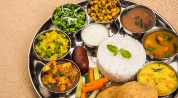 Eating in India