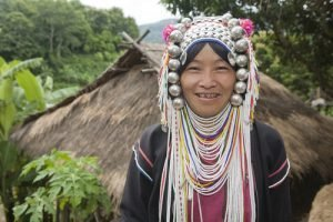 Hilltribe woman, Burma