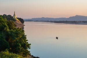 Views of the Irrawaddy River